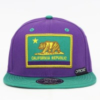 Bon� Official Snapback Cali Purps