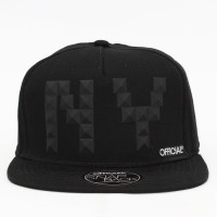 Bon� Official Snapback NY Studs Black