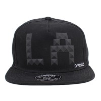 Bon� Official Snapback LA Studs Black
