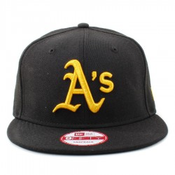 Bon� New Era 9FIFTY Snapback Oakland Athletics Black/Gold