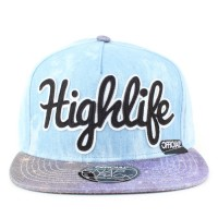 Bon� Official Snapback Highlife Blue/Purple