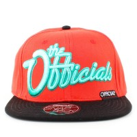 Bon� Official Snapback Script Orange/Black