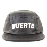 Bon� Official Strapback Five Panel Camp Muerte Black