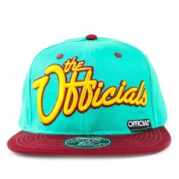 Bon� Official Snapback Script Green/Wine