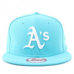 Bon� New Era 9FIFTY Snapback Oakland Athletics Blue