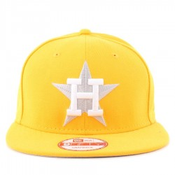 Bon� New Era 9FIFTY Snapback Houston Astros Yellow