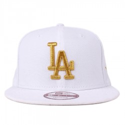 Bon� New Era 9FIFTY Snapback Los Angeles Dodgers White/Gold