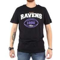 Camiseta New Era Baltimore Ravens Black