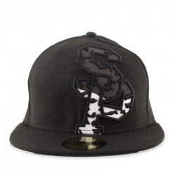 Bon� New Era 59FIFTY S�o Paulo Black/Camo