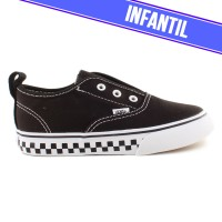 Tênis Vans Authentic V Infantil Chckerbrd Black / TrueWhite