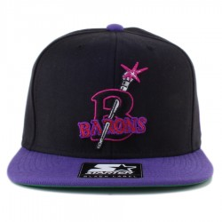 Bon� Starter Snapback Negro League Baseball Museum Black/Purple