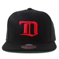 Bon� Mitchell And Ness Snapback Detroit Red Wings Black