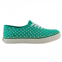 T�nis Keds Double Dutch Dots Verde/Branco