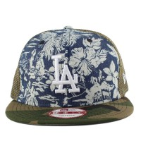 Bon� New Era 9FIFTY Snapback Los Angeles Dodgers Printed/Green