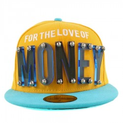 Bon� New Era 59FIFTY For The Love Of Money Yellow/Blue