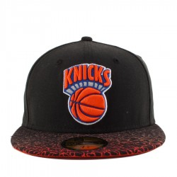 Bon� New Era 59FIFTY New York Knicks Black/Orange