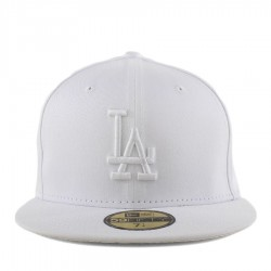 Bon� New Era 59FIFTY Los Angeles Dodgers White
