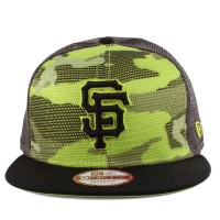 Bon� New Era 9FIFTY Snapback San Francisco Giants Camo/Green/Black