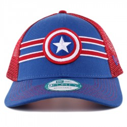 Bon� New Era 9FORTY Snapback Capitain American Blue/Red