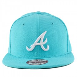 Bon� New Era 9FIFTY Snapback Atlanta Braves Blue