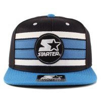 Bon� Starter Snapback Stripe Black/Royal