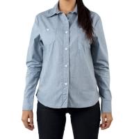 Camisa Vans Micro Feminino Blue