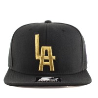 Bon� Starter Snapback Negro League Baseball Museum Black/Gold