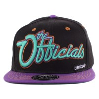 Bon� Official Snapback The Officials Script Black/Purple