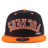 Bon� Official Snapback Fuckers Black/Orange