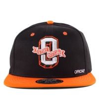 Bon� Official Snapback Stay Black/Orange/Green