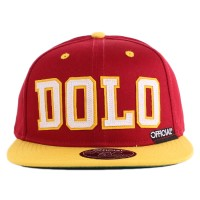Bon� Official Snapback Dolo Wine/Yellow