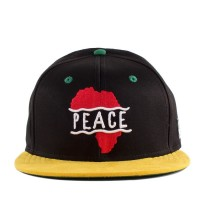 Bon� Cayler And Sons Snapback Peace Black/Yellow/Green