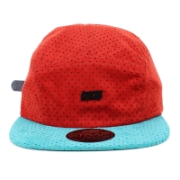 Bon� Official Strapback Five Panel Script Red/Blue