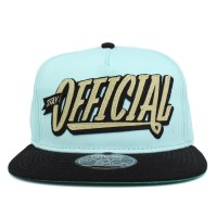 Bon� Official Snapback Stay Sky Green/Black