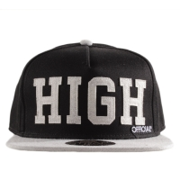 Bon� Official Snapback High Black/Grey
