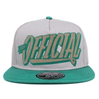 Bon� Official Snapback Stay Flocked Grey/Green