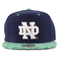Bon� Mitchell And Ness Snapback Notre Dame Fighting Irish Navy/Green