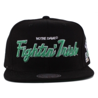Bon� Mitchell And Ness Snapback Notre Dame Fighting Irish Black/Grey