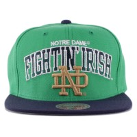 Bon� Mitchell And Ness Snapback Notre Dame Fighting Irish Green/Navy