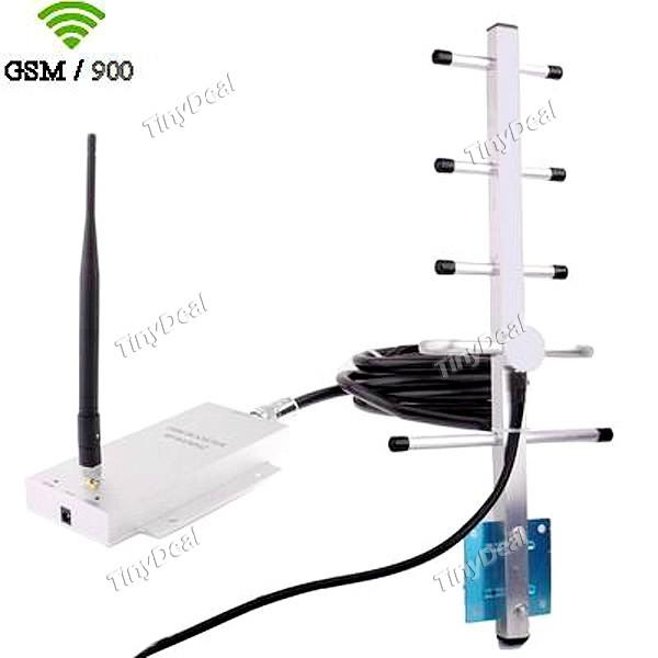 Gsm900 telefone celular booster repetidor de sinal com kit - Amplificador de antena ...