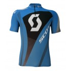 Camisa Ciclismo Scott Authentic Azul 2014