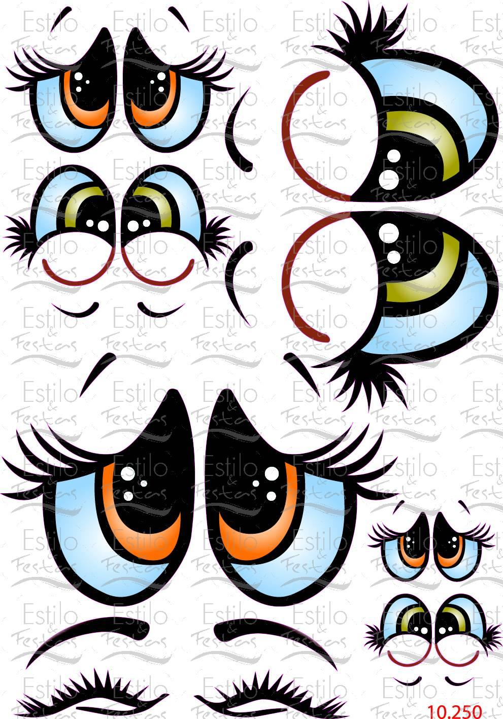 Aparador Cocina Madera ~ Adesivo para bal u00e3o Cartela Olhos de anjo com Express u00e3o Acessorios para Festas Estilo e Festas