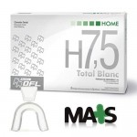 Kit Clareador Dental Total Blanc Home 7,5% + Moldeira para Clareamento Dental