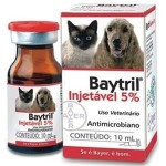 BAYTRIL INJET�VEL 5% - 10ml