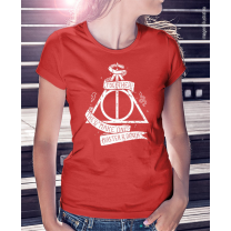 Camiseta Harry Potter - Master of Death (tradicional, baby look)