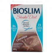 BIOSLIM SHAKE DIET CHOCOLATE 400GR