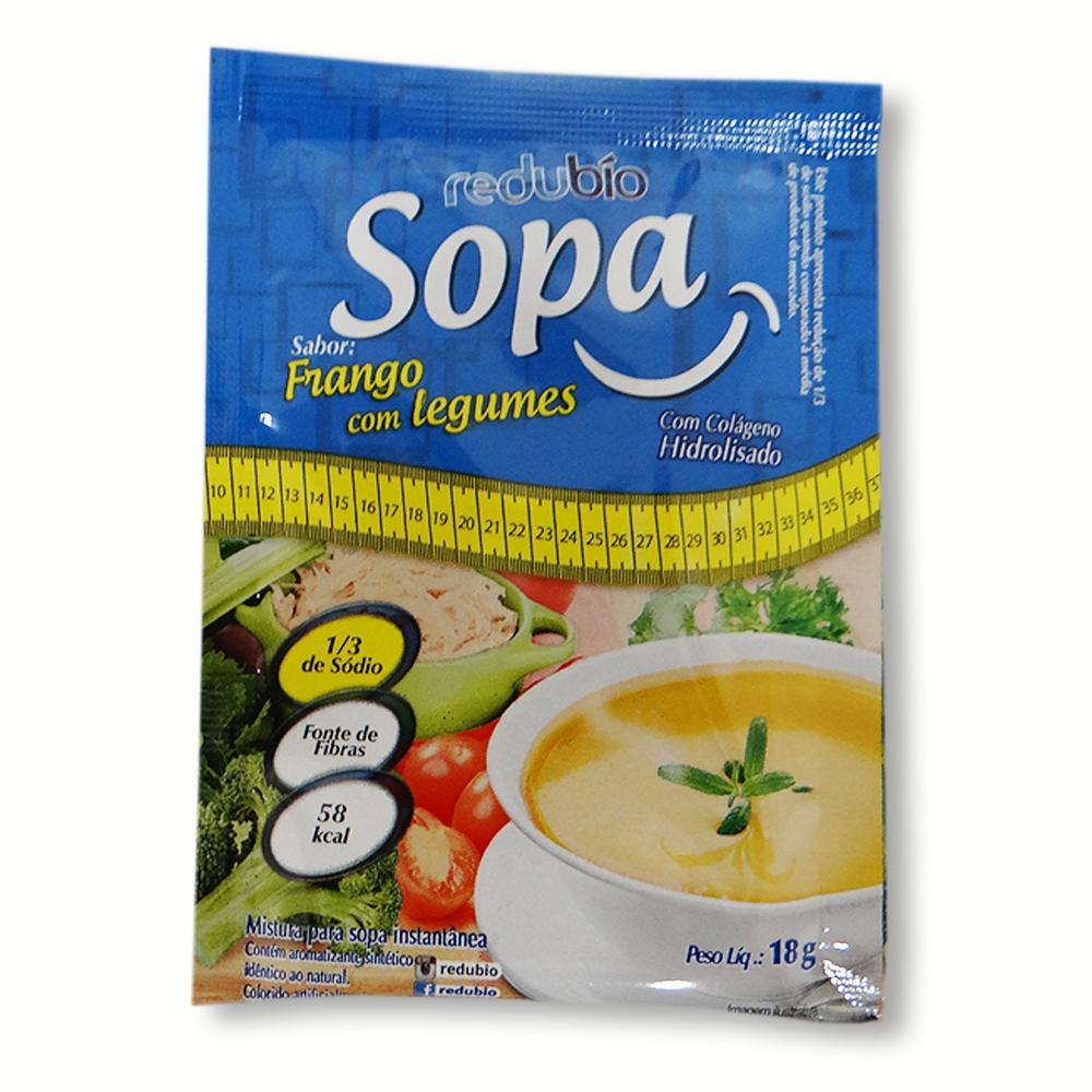 REDUBIO SOPA SABOR CARNE COM LEGUMES