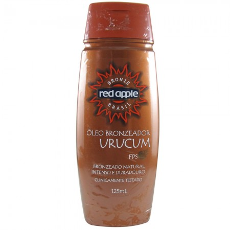 �leo Bronzeador Red Apple Urucum FPS 2 - 125ml