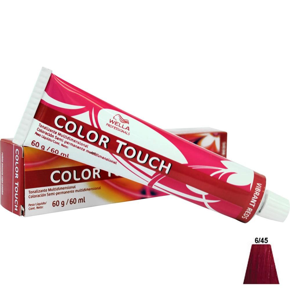 tonalizante wella color touch louro escuro vermelho acaju 60ml. Black Bedroom Furniture Sets. Home Design Ideas