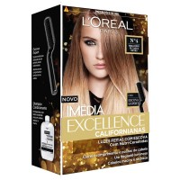Tintura L\'Oreal Paris Imedia Excellence Californianas - No. 04